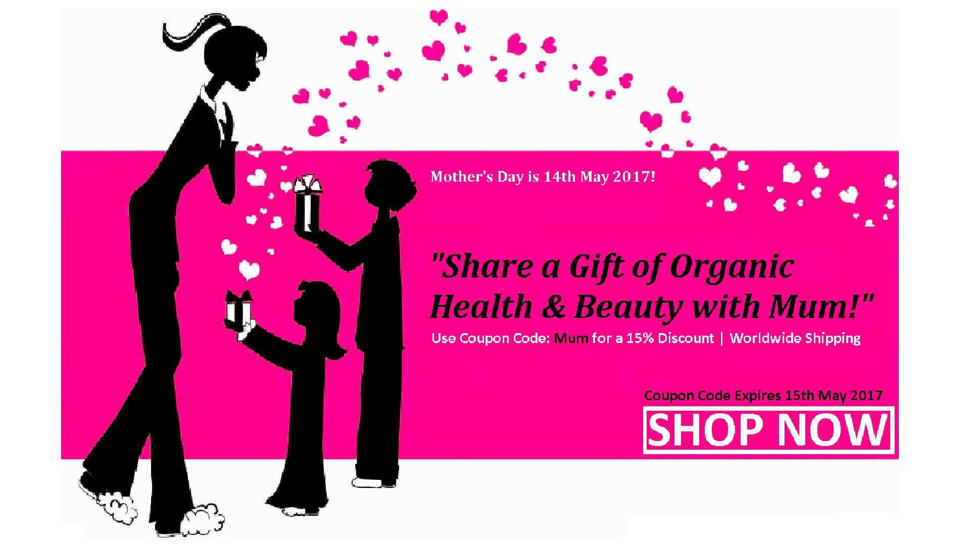 Happy Mother's Day Organic Products Gift