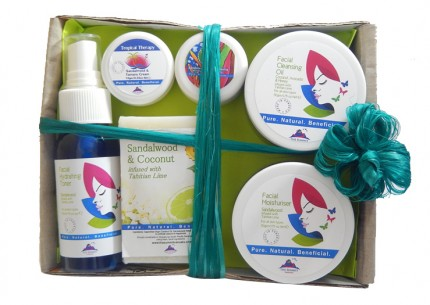 Island Beauty DAILY Ritual Pack - Zingy Vibes - Organic Beauty
