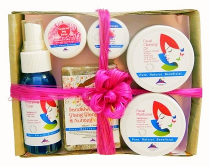 Island Beauty DAILY Ritual Pack- Tropical Flower Organic