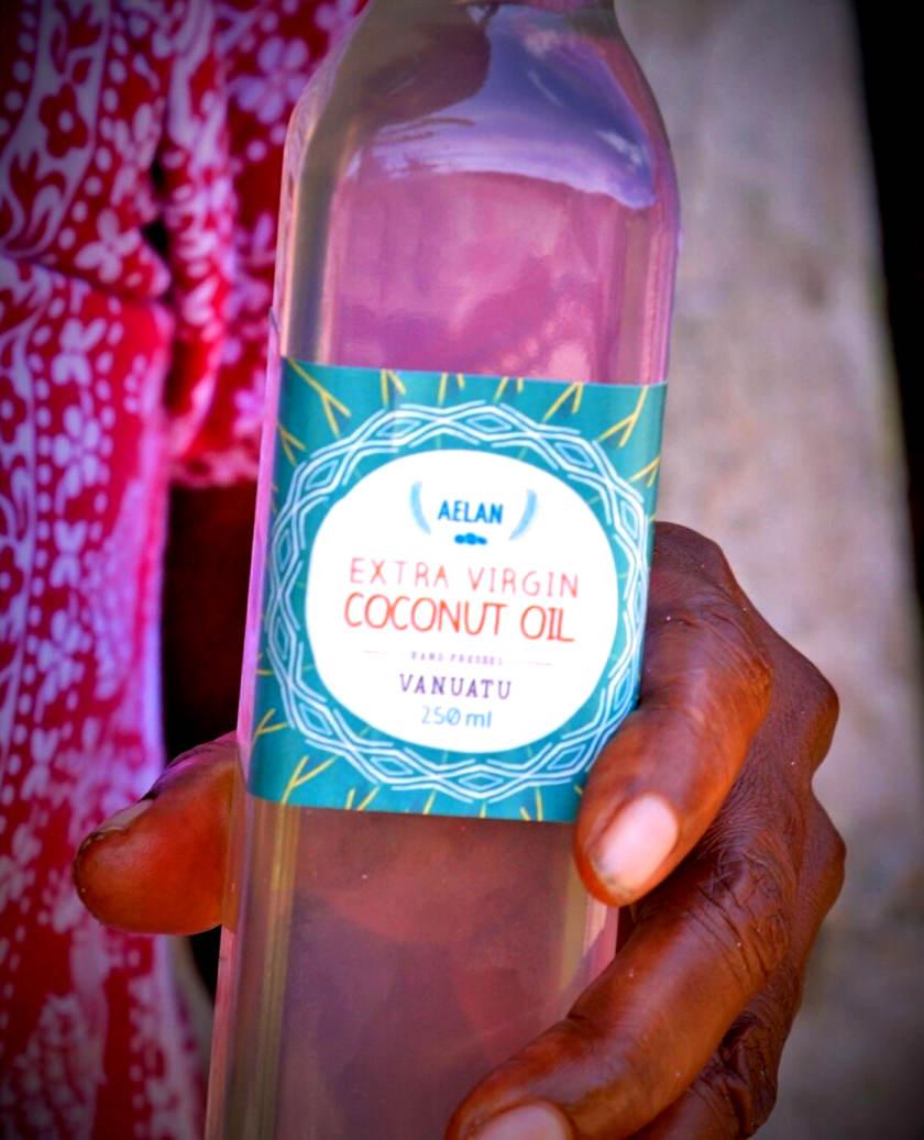 organic virgin coconut oil vanuatu