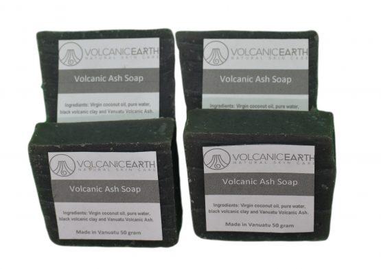 Organic Black volcanic soap