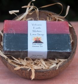 Organic Black Lava Coconut Oil Soap