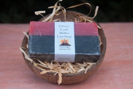 Organic Black Lava Coconut Oil Soap