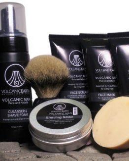 Volcanic Man Organic Skin Care Pack