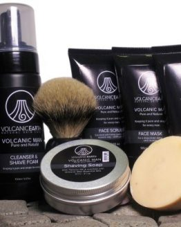 Volcanic Man Organic Skin Care Pack