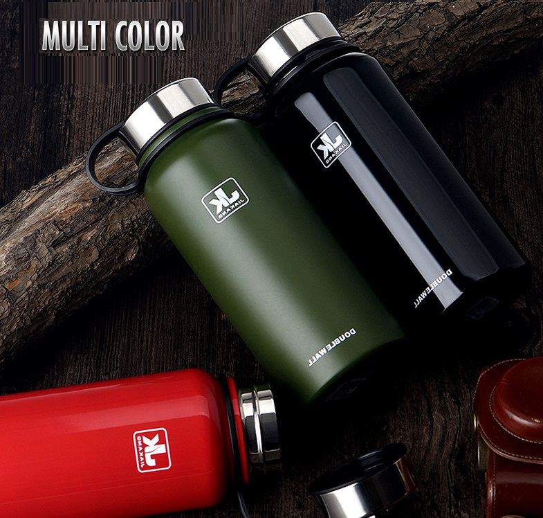sustainable glass drinking stainless steel thermos bottle 1