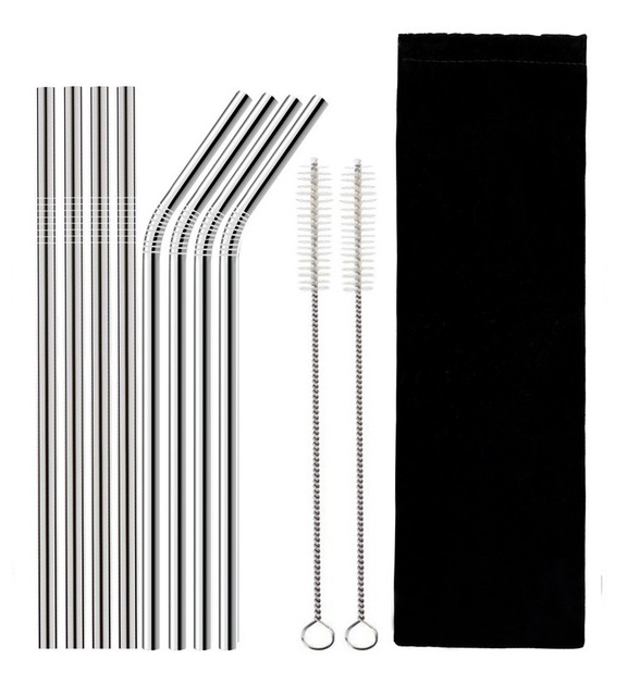 Sustainable & Eco-Friendly Stainless Steel Straws