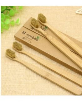 eco-friendly bamboo toothbrush - sustainable and organic