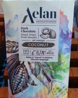 Shop Aelan Chocolate Artisan Dark Chocolate with Coconut