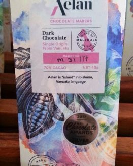 Artisan Dark Chocolate Naturally Organic Dark Chocolate from Malekula Vanuatu Vanuatu Made