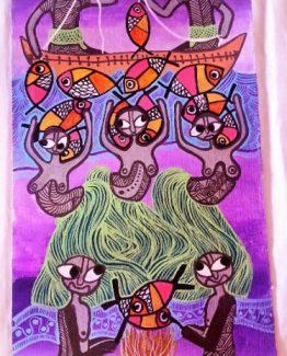 shop Traditional Art by Belinda Inspired by the way of living in Vanuatu Vanuatu art