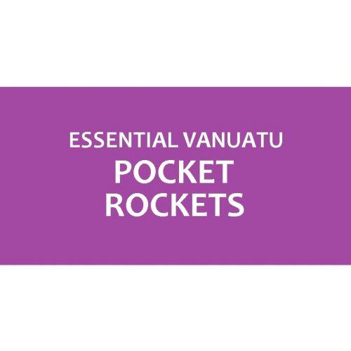 Organic Essential Vanuatu Pocket Rockets