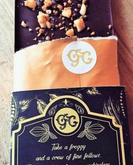 Gaston Chocolat Caramelized Nangai Nuts and Sea Salt