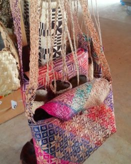 hBeautiful Hand Woven Laptop Bag