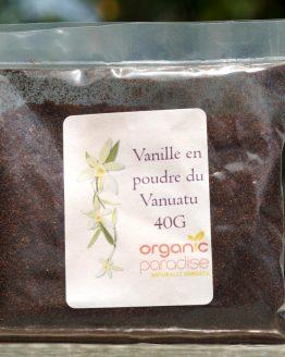 organic vanilla powder 40g web