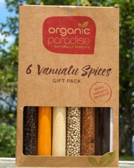 6 organic vanuatu spices