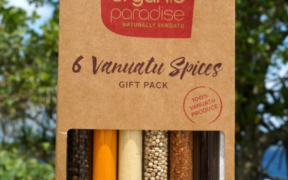 Spices like Vanilla, Chilli, Ginger & Turmeric from the Organic Certified Venui Range
