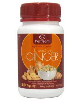 Bioactive Non-GMO Ginger Capsules